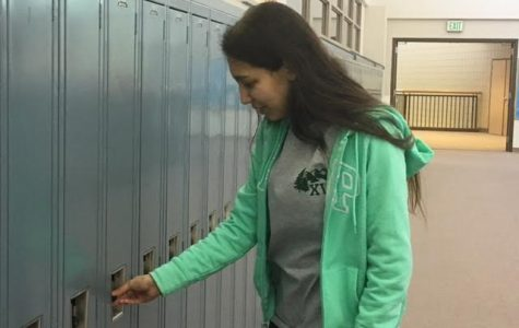 Ana Silva is a new foreign exchange student from Brazil. In her time at Conifer, she has struggled with the language, but has made new friends.