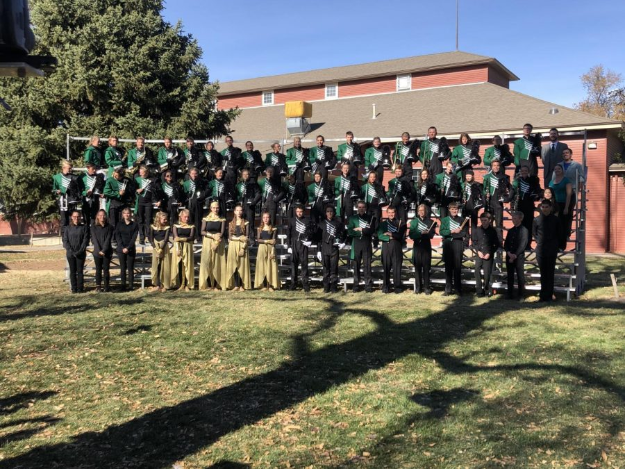 Marching Band Ends Year in 9th Place
