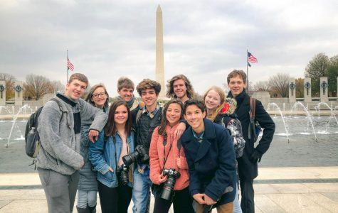 Conifer Student Media at the Washington Monument