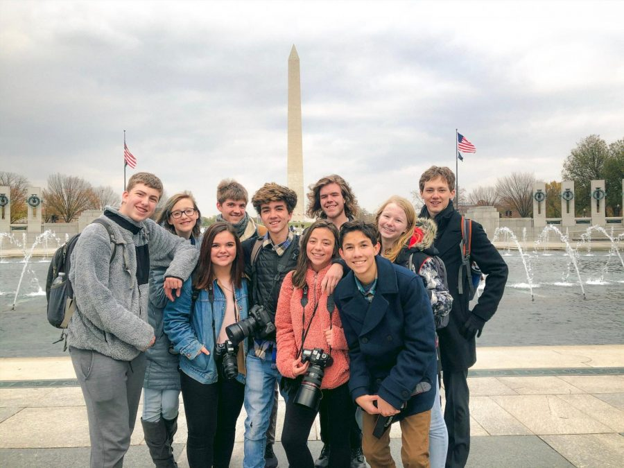 Conifer+Student+Media+at+the+Washington+Monument