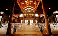 The dance will be held off campus at the Marshdale Memorial barn, a venue typically reserved for weddings and banquets. Photo courtesy of The Barn at Evergreen Memorial Park.