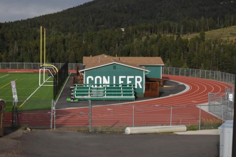 The school's track and field