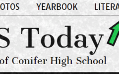 Conifer's literary magazine can be accessed from the breadcrumbs atop the home page of the newspaper website and features student-written fiction, poetry, and art