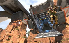 A hero is re-spawned from a dropship following a battle